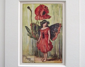 Original 1937 The Flower Fairies Cicely Mary Barker