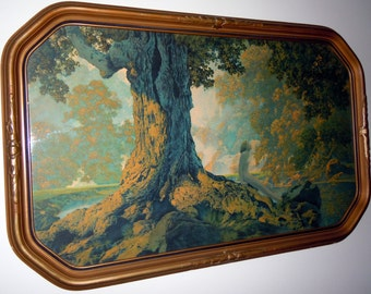 Maxfield Parrish Original 1928 DREAMING Art Print