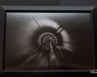 Tunnel- Mirror print