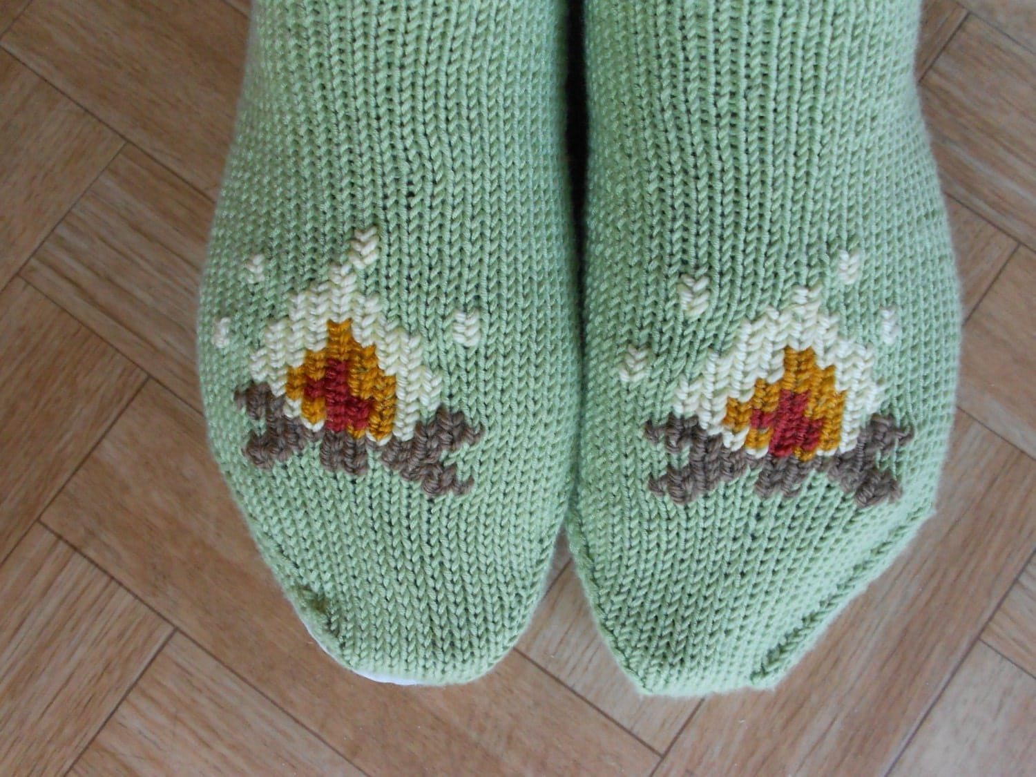 Slipper Patterns Knitting : Slippers knitting pattern Knit slippers by CuteCreationsByLea