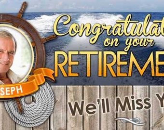 Boating Retirement Banner