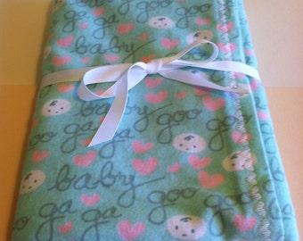 Snuggle Flannel Baby Blanket - Goo Goo
