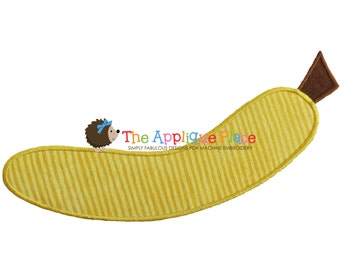 Banana Machine Embroidery Applique Design