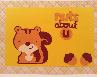 Nuts about U Greeting Card