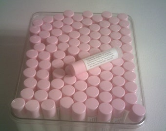 Hand poured lip balm made with all natural ingredients