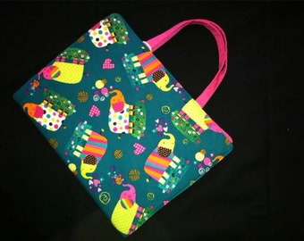 Girly Elephants Coloring Caddy