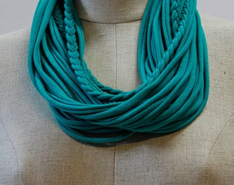Teal T-Scarf
