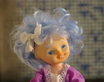 New Vintage Doll Malvina - The Fairy with Turquoise Hair - Soviet Vintage