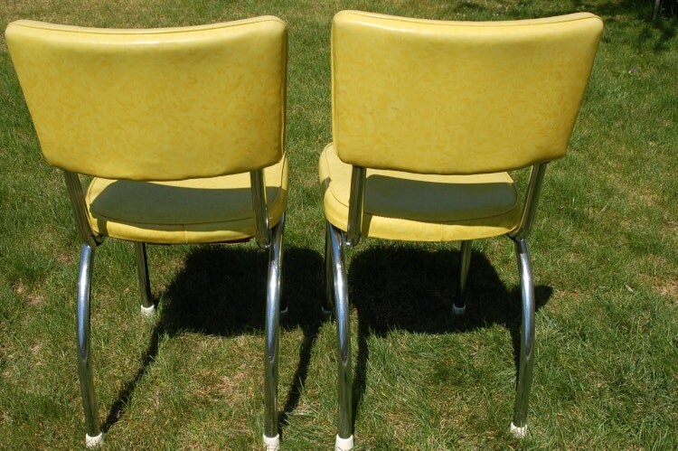 Pair Of Retro Douglas Furniture Chrome And By