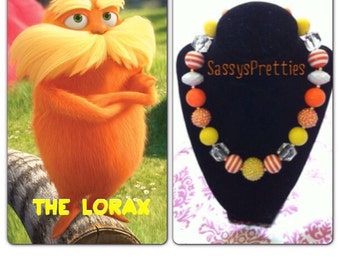 The Lorax Chunky Necklace
