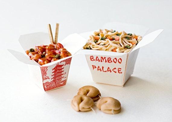 1:6 miniature - Chinese Takeout