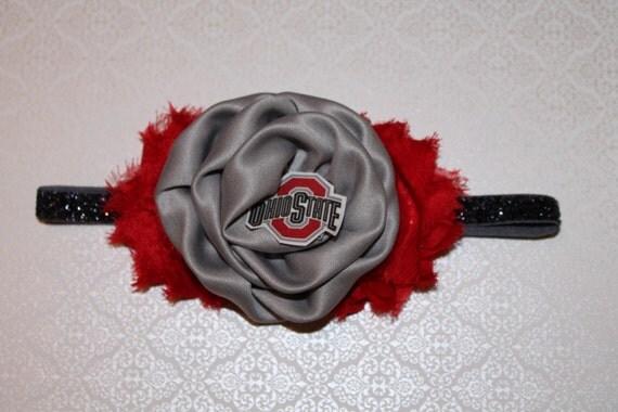 Ohio State University OSU Grey and Scarlet Baby Infant Newborn