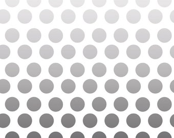 Ombre GRAY dots by Riley Blake Designs BTY by the yard