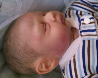 Reborn Baby Easton Sculpt by Michelle Fagan..Professionally Reborned