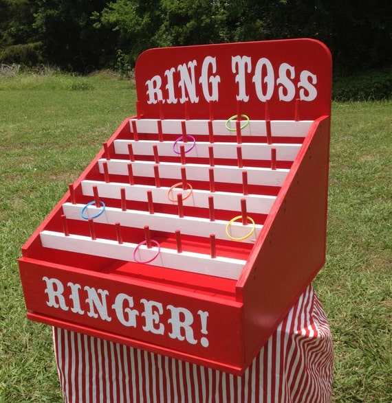 Ring Toss Carnival Game For Birthday Church VBS. School