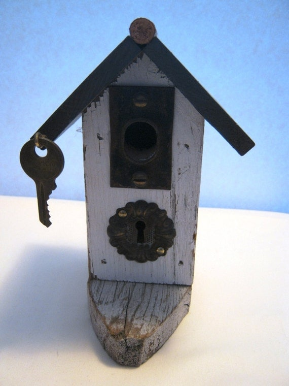 Cottage style decorative bird house by dakotajoyce on etsy for Bird house styles