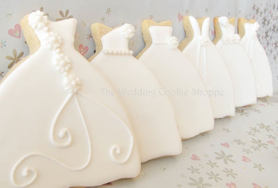 Items Similar To 100 Bridal Shower Cookie Favors