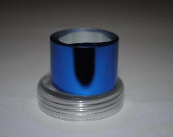 Sale! 3 meters Cobalt blue Metallized foil film coating for nails