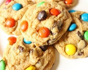 M&M Chocolate Chip Lactation Cookie