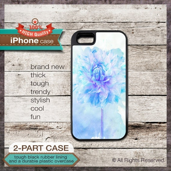 iPhone 6, 6+, 5 5S, 5C, 4 4S, Samsung Galaxy S3, S4 - Watercolor Flower - Design Cover 59