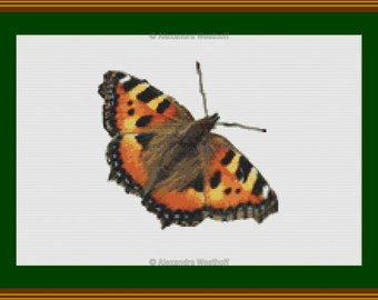 "Cross stitch chart ""Kleiner Fuchs"""