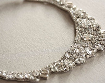 Bridal statement Necklace - Hearts (Made to Order)