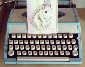 Mr Squirrel Greetings Card.