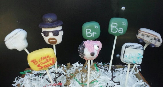 Breaking Bad Cake Pops - Heisenberg - Blue Meth Novelty - Party Favors