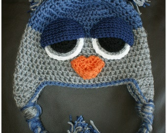 CROCHET PATTERN: Not ANOTHER Owl Hat Crochet Pattern.  (Child to Adult)