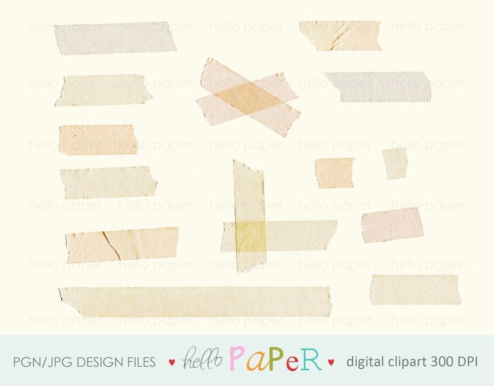 Like this item?: etsy.com/listing/126116348/natural-vintage-tape-strip-digital