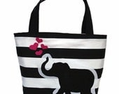 Elephant Love Patch Tote