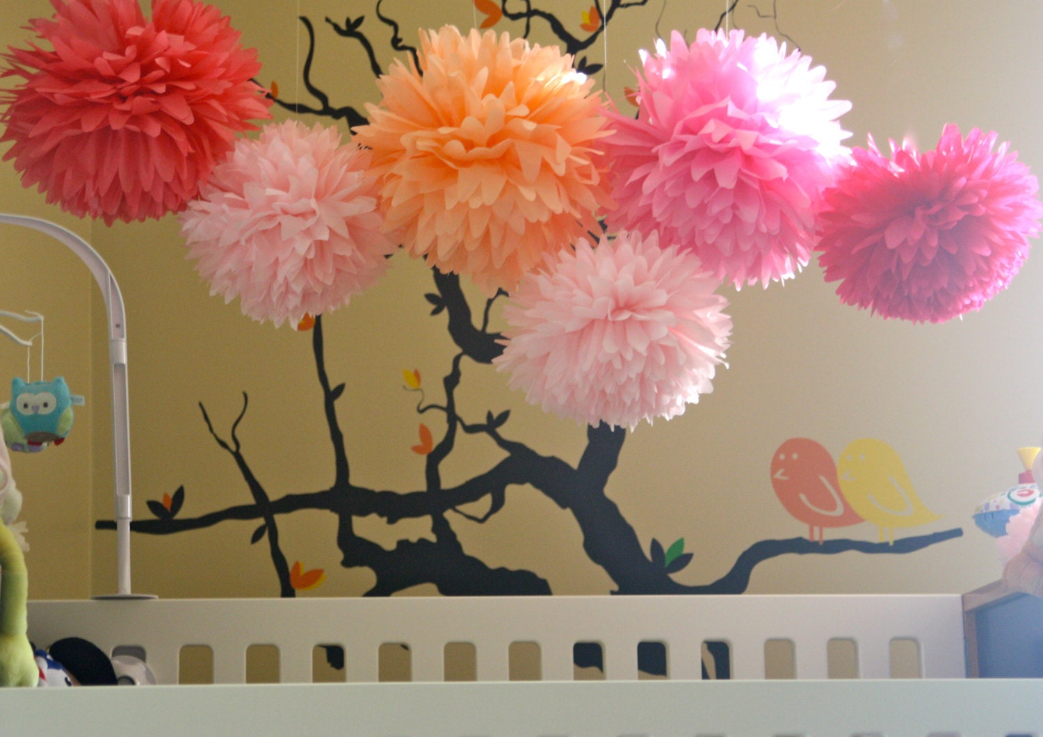 Baby shower wedding buy tissue paper poms tissue paper pom pom kit - Diy Tissue Pom Poms This Item Sold On August 5