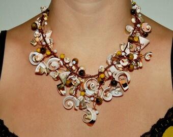 Shell Garden Necklace