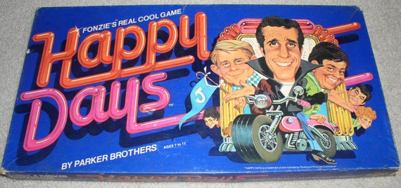 1976 happy days board game