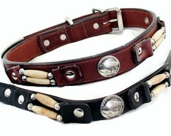 "3/4"" Cheyenne Collars (Medium Sizes 3/4"" wide)"