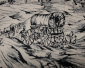 Wagon Trail Print Fabric