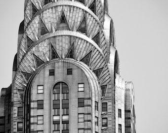 Chrysler Building New York Digital Photo JPG File - FREE SHIPPING - Ready to print digital photography