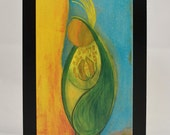 """Postcard - """"The Corn Maiden of Grace"""" - Art by Donna D'Orio"""