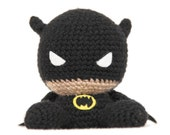 Fat Face Superhero Amigurumi Pattern
