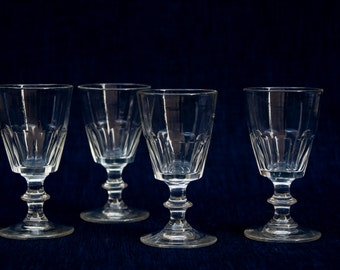 Victorian water/wine glasses