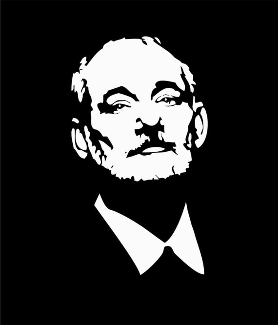 bill murray vinyl car decal 7 x 4 keep calm chive on kcco the