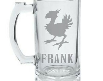 Chocobo Mug - Personalized Final Fantasy Chocobo Mug - Final Fantasy Beer Mug