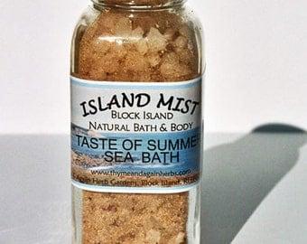 Taste of Summer Aromatherapy Bath Salts