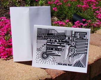 DoodleArt: Return Address Card