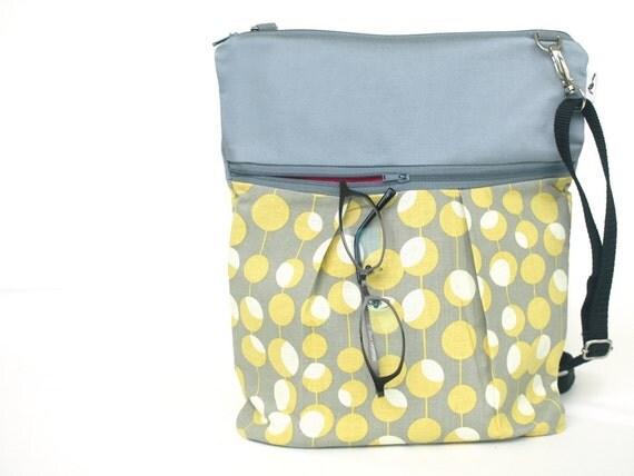 items similar to shoulder travel bag sling bag crossbody zipper tote diaper bag travel purse. Black Bedroom Furniture Sets. Home Design Ideas