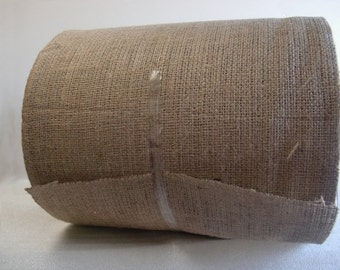 "9"" Inch Wide Burlap Roll - 100 Yards"