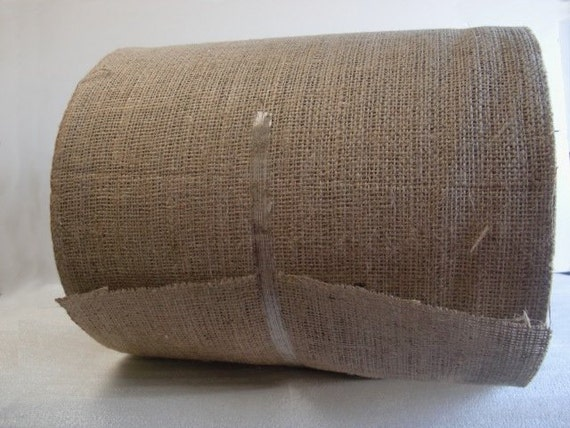 10 Inch Wide Burlap Roll 100 Yards