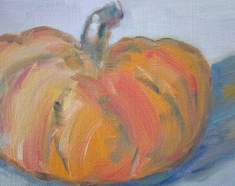 Pumpkin - Original Oil Painting