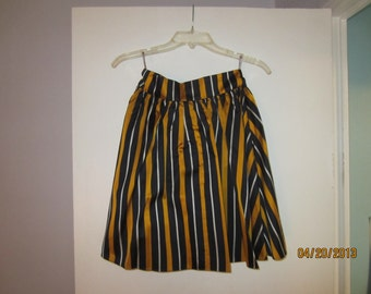 Gorgeous 90s Mark Eisen Necktie Skirt