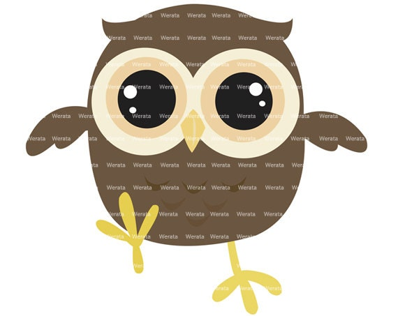items similar to baby owl clip art baby owl cute owl digital rh etsy com baby owl clip art free owl clip art for baby shower